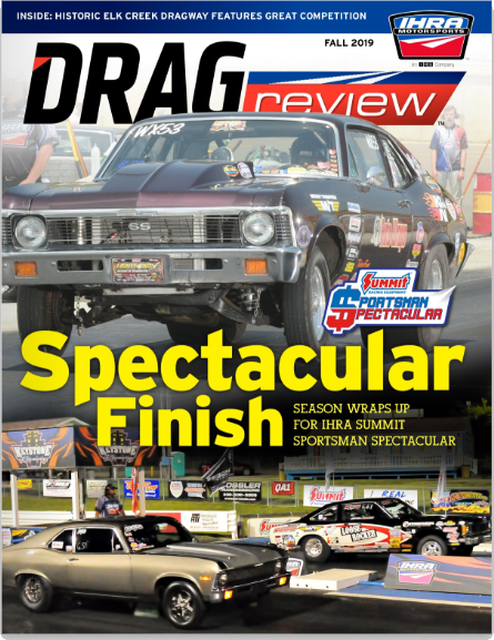 Joe Jr. on the Cover of Drag Review